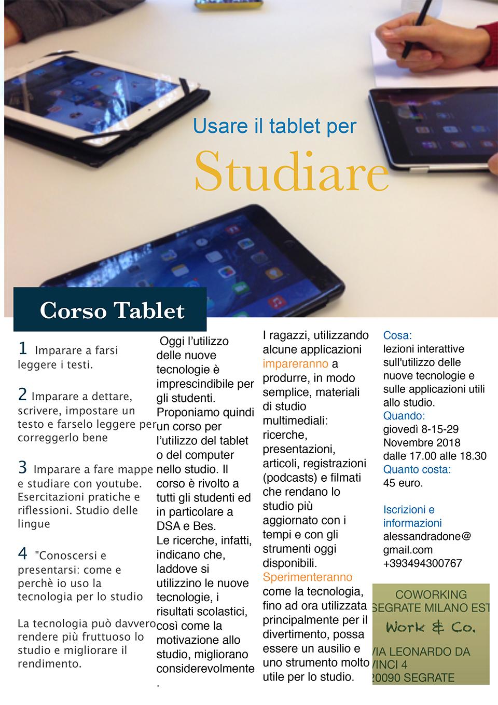 Corso tablet