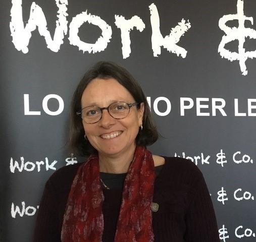 Alessandra Doneda online dagli uffici di Milano di Work & Co.