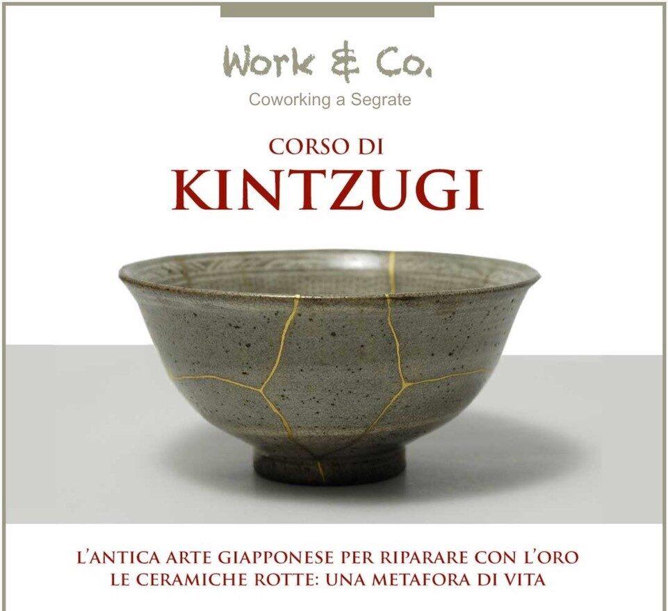 Corso di Kintzugi: scopri l'antica arte giapponese