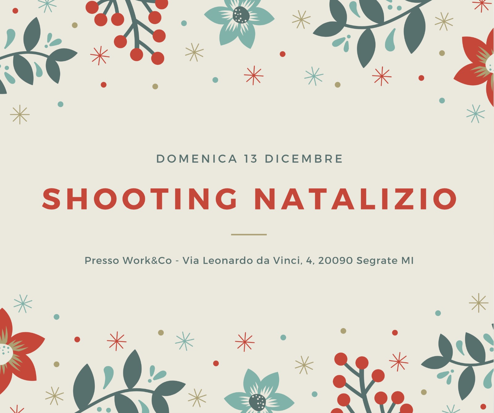 Shooting Natalizio